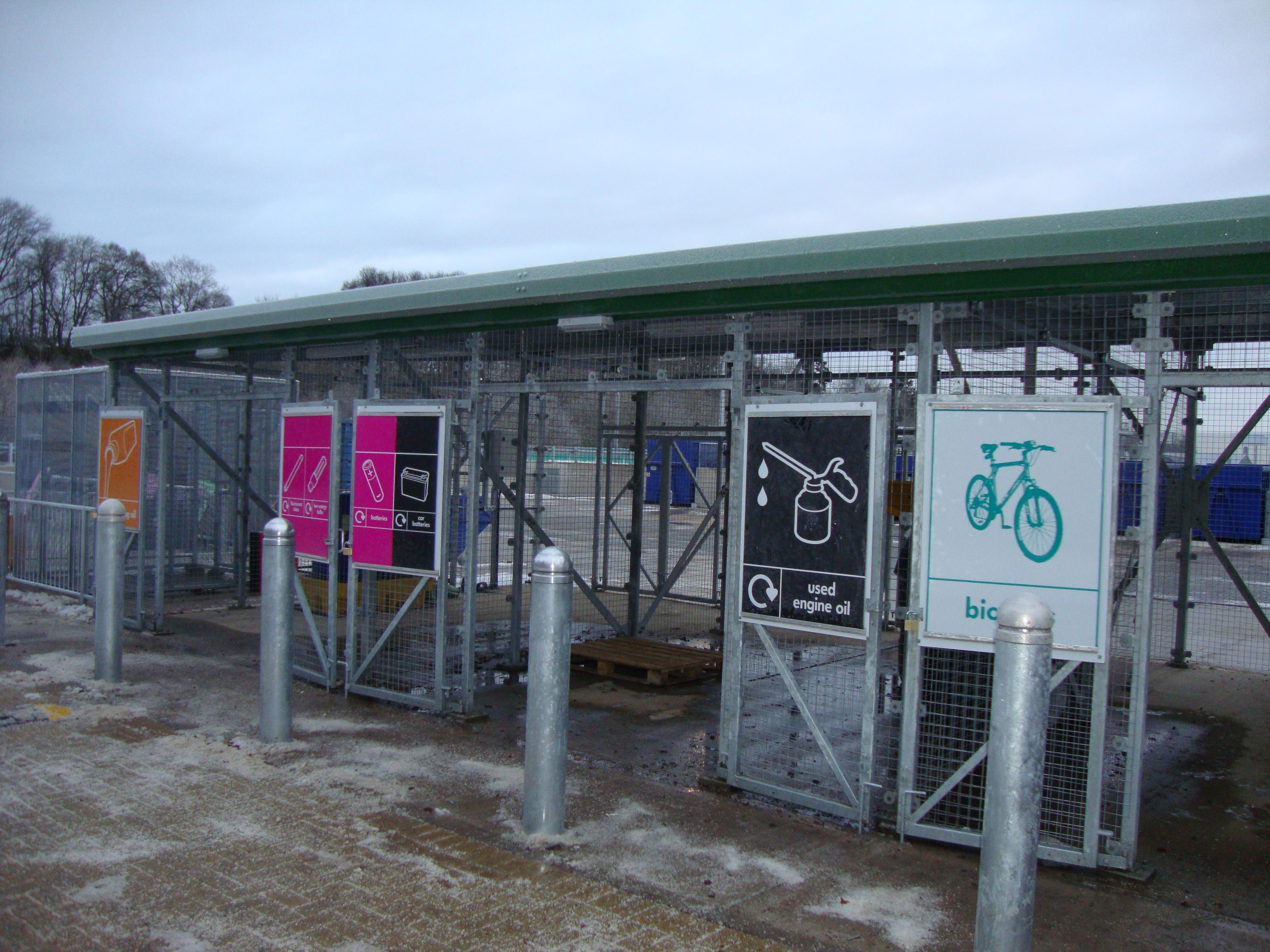 Inveralmond Recycling Centre Perth Rj Mcleod